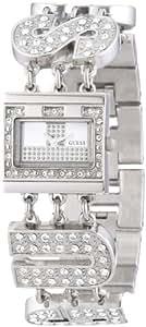Guess - W10264L1 - Montre Femme - Quartz Analogique - Cadran Argent - Bracelet Acier Argent