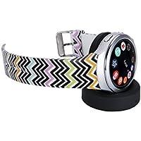 Samsung Gear S2 Band Getwow Samsung Smartwatch Replacement Band For Samsung Gear S2 Smart Watch SM-R720 Black-... - B01E3J9Q0I