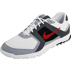 Nike Golf Mens Nike Air Range WP Golf Shoe by Nike Golf