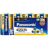 Panasonic EVOLTA 単1型乾電池 4本パック LR20EJ/4SW