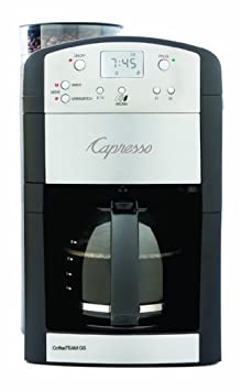 Capresso CoffeeTeam GS with Burr Grinder