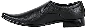 Kraasa Men's Patent Leather Formal Shoes