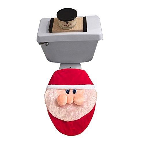D-FantiX Toilet Lid Cover - Santa Claus (Lid For Toilet Tank compare prices)