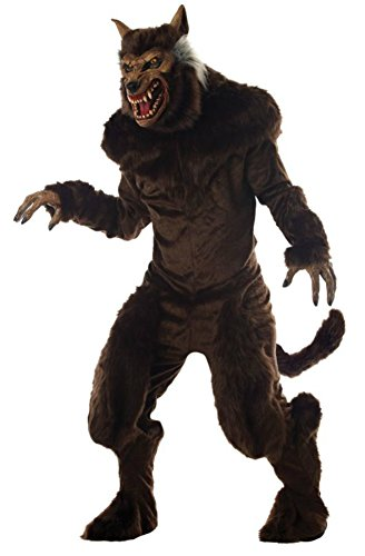 Mario Chiodo Mens Deluxe Werewolf Theme Party Fancy Dress Halloween Costume