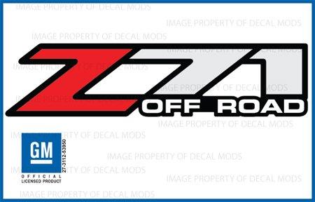 Chevy Silverado Z71 Off Road Decals Stickers F 2001 2006 Bed