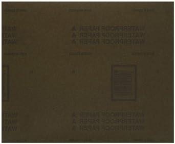 Norton Sandwet Abrasive Sheet, Paper Backing, Silicon Carbide, Waterproof