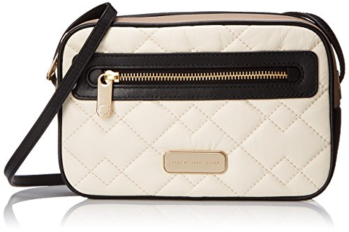 Marc by Marc Jacobs Sally Moto Quilted Handbag, Leche/Multi, One Size