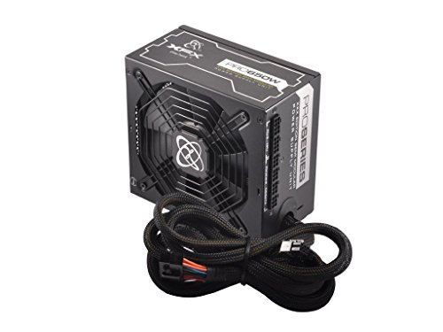 XFX 650W XXX Edition Single Rail Power Supply with Semi Modular Cables 240-Pin 650 Energy Star Certified Power Supply P1650XXXB9 (Modular Power Supply Xfx compare prices)