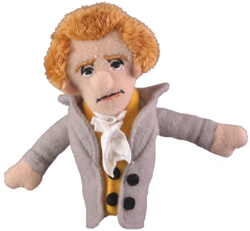 Thomas Jefferson Finger Puppet and Refrigerator Magnet - By The Unemployed Philosophers Guild - 1
