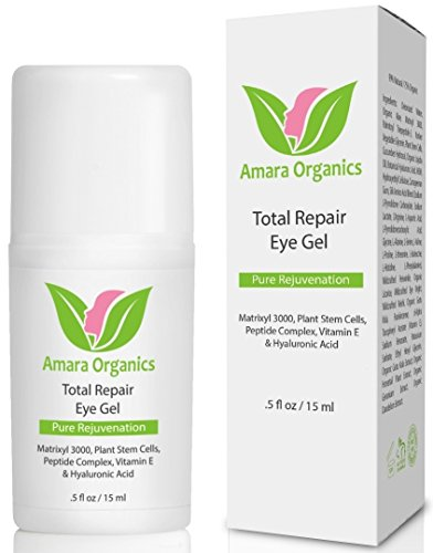 Amara Organics Eye Cream for Dark Circles and Puffiness with Peptides, .5 fl. oz. (Cream Under The Eye compare prices)