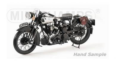 ミニチャンプス 62135500 1/6 ブラフシューペリア 1932 MINICHAMPS BROUGH SUPERIOR SS 100 BIKE T.E. LAWRENCE