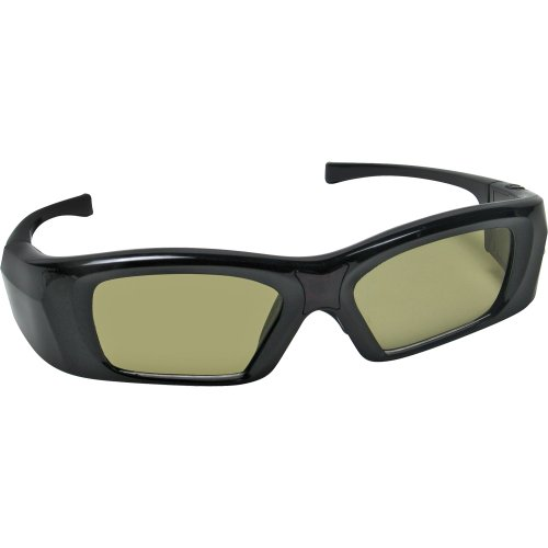 DMS Technology Rechargeable Infrared Active Shutter 3D Glasses for Samsung 3D TVs (Also supports Mitsubishi with IR Emitter)