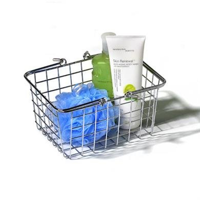 Small Wire Basket - (Chrome) (6.75