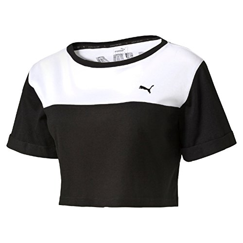 Puma Style Swagger Top W Maglietta, Nero, M