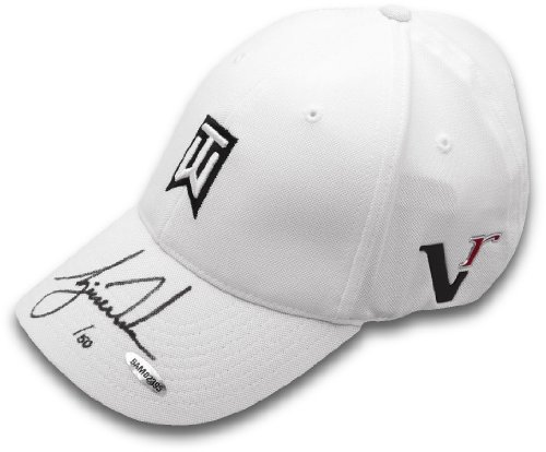 Tiger Woods Hand Signed Autographed TW White Hat Limited Edition   50 Upper  Deck Authenticated UDA b51352388ef