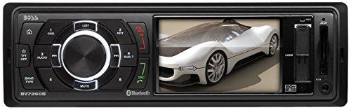 BOSS AUDIO BV7260B Single-DIN 3.2 inch Screen MECH-LESS  Receiver, Bluetooth, Wireless Remote