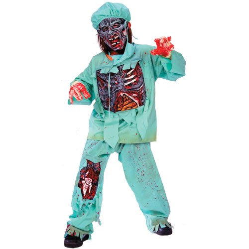 Fun World Zombie Doctor Child