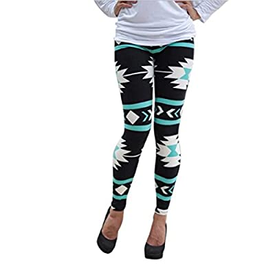 Leggings ,Bessky® 2015 Fashion Womens?HOT SELL?Geometric Print Stretchy Pants Skinny Long Pants New