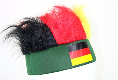 "Germany Oktoberfest World Cup Party Hat - ""HAIR"" - 1"