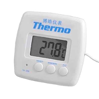 LCD Display Resettable Refrigerator Freezer Digital Thermometer
