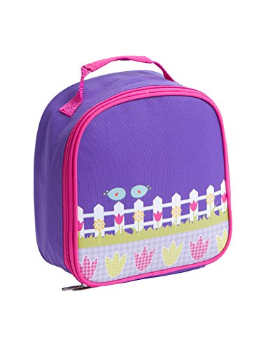 Aquarella Kids Birds Lunchbox, Purple