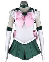 Sailor Moon Cosplay Costume -Sailor Jupiter Kino Makoto 1st Fighting Small