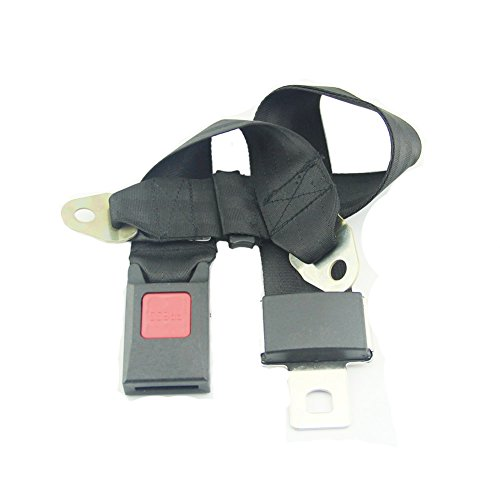 Leadrise® 2 Point Adjustable Car Seat Safetey Belt Harness Kit Single Double Seat Go Kart UTV Buggie