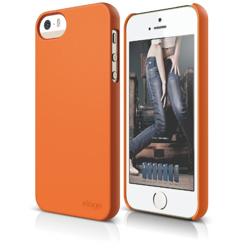 elago S5 Slim iPhone 5 case Orange
