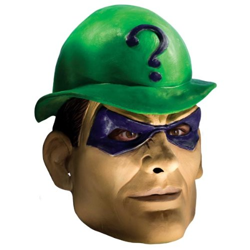 Deluxe Riddler Adult Mask - Masks