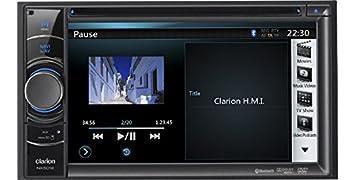 Clarion NX501EAV Autoradio CD/DVD Noir