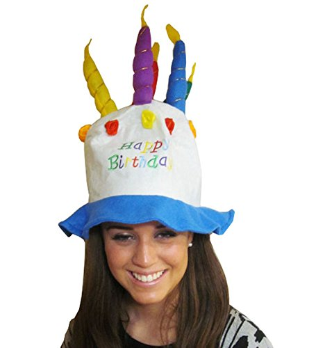Felt Birthday Cake With Candles Hat