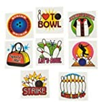 Pack of 12 - Ten Pin Bowling Temporar...