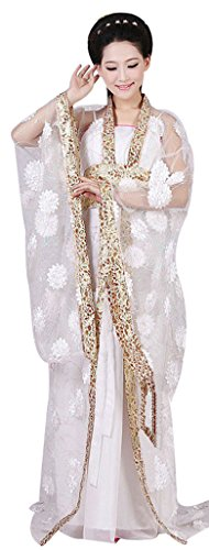 Chinese Costume Women's Queen Dress Trailing Empress Halloween Cosplay