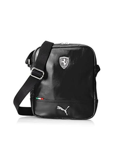 PUMA Men's Ferrari Long Sleeve Portable Bag, Black