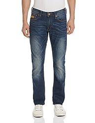 Superdry Men's Slim Fit Jeans (5054265344855_M70MK003F3_30W x 32L_Brighton Blue)