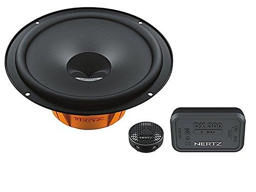 Hertz-Auto-Lautsprecher-Kompo-System-320-Watt-VW-Caddy-2K2KN-ab-2003-Einbauort-vorne-Tren-hinten