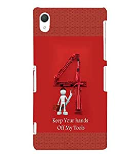 EPICCASE My Toolbox Mobile Back Case Cover For Sony Xperia T2 (Designer Case)
