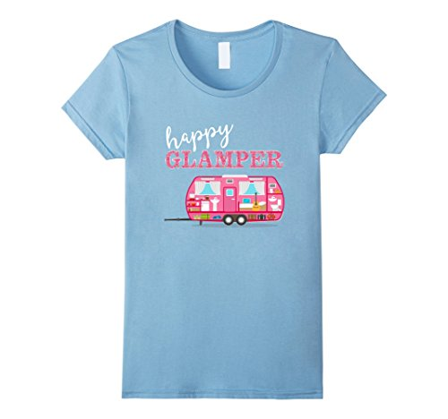 Women's Happy Glamper T-Shirt.