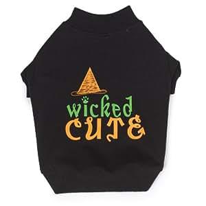 Amazon.com : Zack & Zoey Polyester/Cotton Wicked Cute Dog Tee, XX