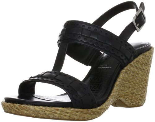 Rockport France - Sandali, Donna, Nero  (Noir (Black)), 36