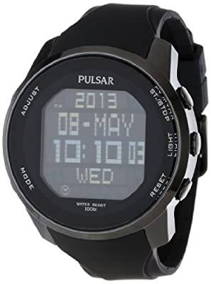 Pulsar Men's PQ2011 Classic Digital Watch