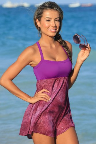 G238 Spanish Swim Dress Top