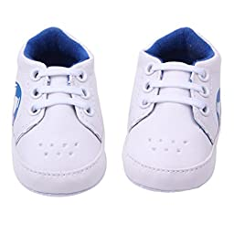Voberry® Boys Baby Ride Sneaker Toddler Little Kids Boots for Winter (9-12months, Blue)