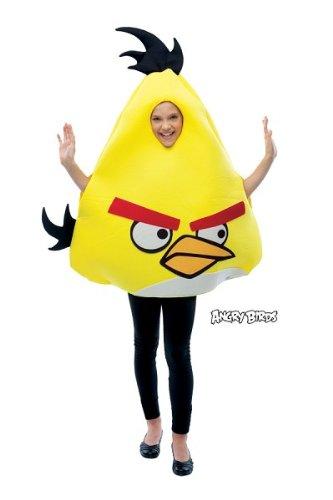 Yellow Angry Bird Costume, Unisex, Child