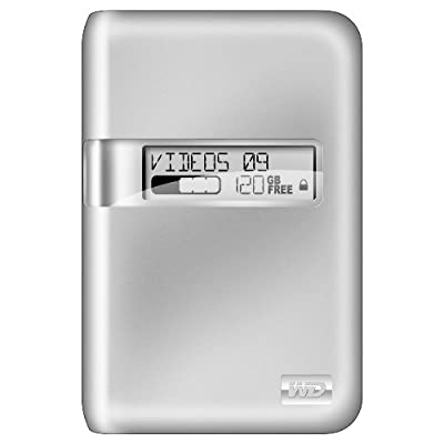 Western Digital My Passport Studio Portable Hard Drive (500GB USB,Firewire 800) - Silver from Western Digital