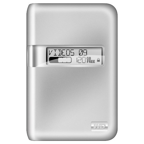 Western Digital My Passport Studio Portable Hard Drive (500GB USB,Firewire 800) - Silver