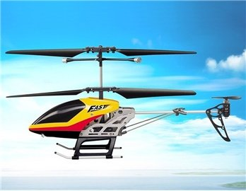 SongYang TOYS 8088-41 3.5-Channel Alloy Infrared RC Helicopter (Yellow)