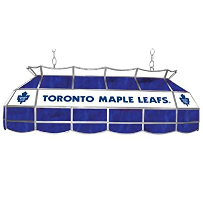 Trademark Gameroom NHL Toronto Maple Leafs Tiffany Gameroom Lamp, 40-Inch