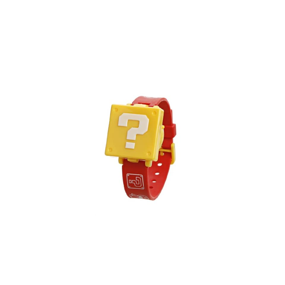 Nintendo New Super Mario Bros. Wii Childrens Watch   Question Block