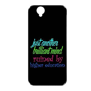 Vibhar printed case back cover for Sony Xperia C3 RuinedHigher
